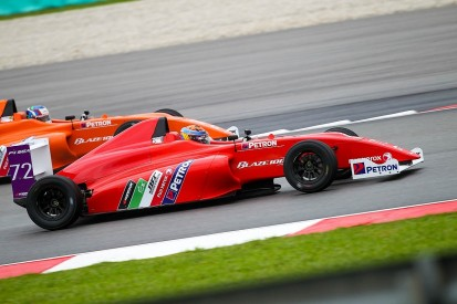 Malaysian GP: No cars finish South East Asia Formula 4 support race