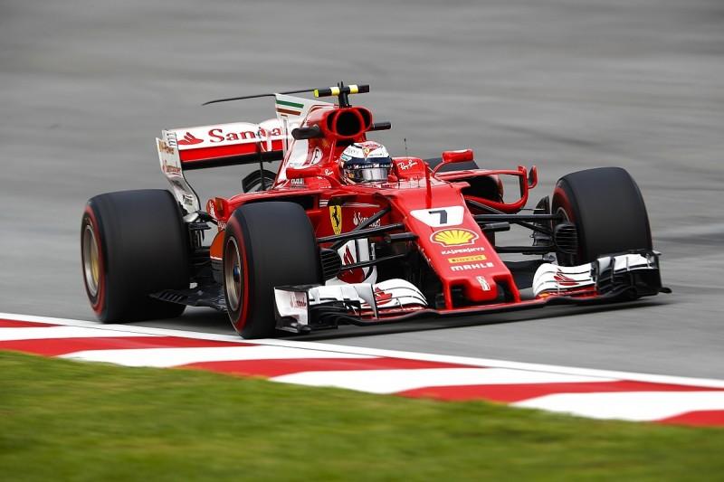 Malaysian GP: Raikkonen edges Vettel in final practice