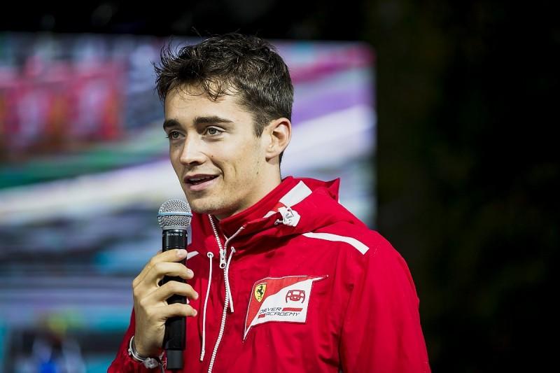 Ferrari junior Leclerc against Super Formula move, wants F1 in 2018