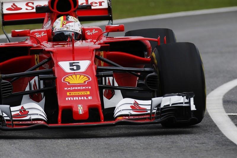Malaysian GP: Vettel fastest, drain cover crash halts practice