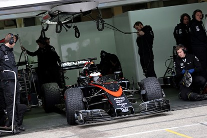More Honda engine trouble for McLaren at Pirelli F1 tyre test
