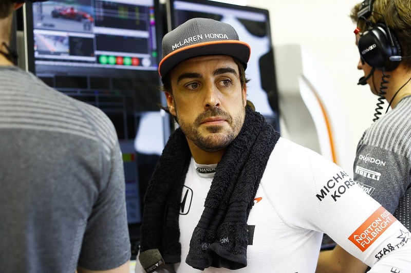 Fernando Alonso punched a hole through his room wall at Singapore GP