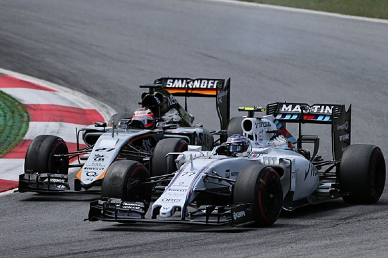 Force India Formula 1 team sees Williams's form as its benchmark