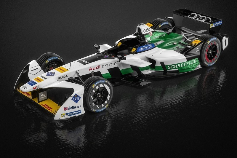 Audi reveals first works Formula E entry, uses old LMP1 e-tron name