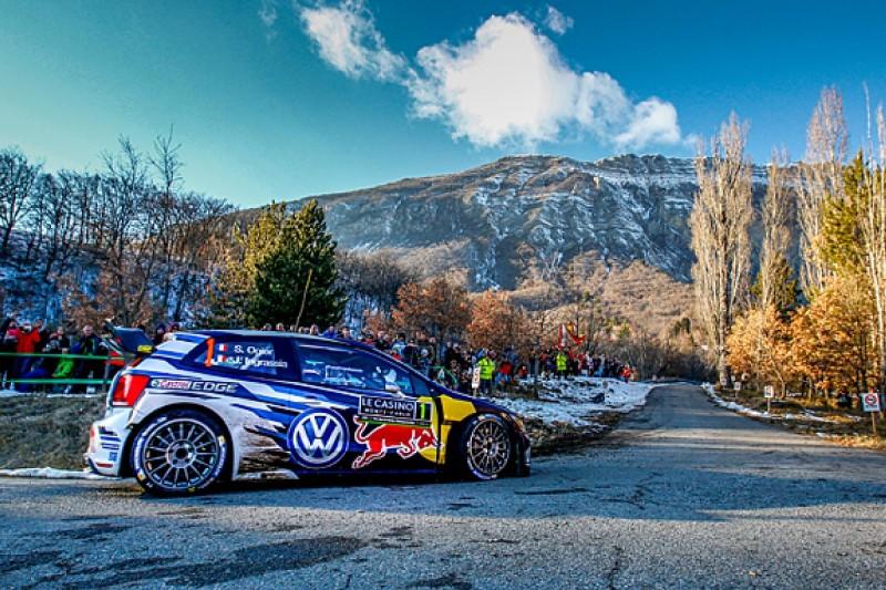 WRC Monte Carlo Rally: Sebastien Ogier takes lead from Kris Meeke