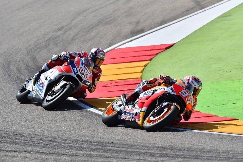 Ducati: Marquez's errors offer rival Dovizioso MotoGP title hope