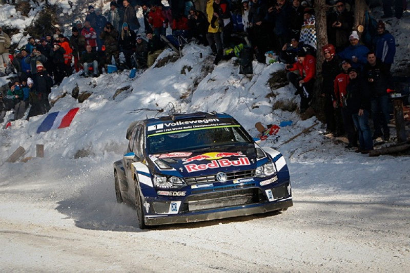 WRC Monte Carlo Rally: Sebastien Ogier pulls away amid tyre gambles