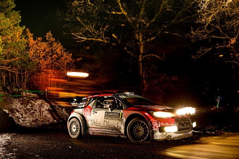 WRC Monte Carlo: Kris Meeke leads Sebastien Ogier after first night