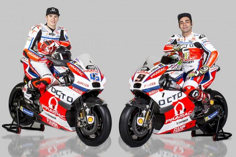 Pramac Ducati squad unveils 15th anniversary MotoGP livery