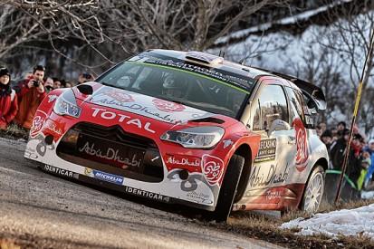 WRC Monte Carlo Rally: Kris Meeke leads shakedown in PH Citroen