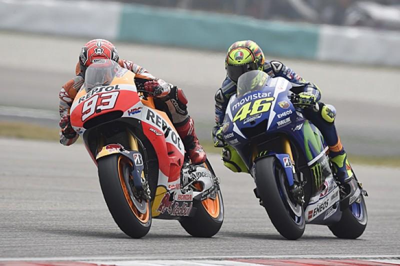 MotoGP eyes changes after 2015 Valentino Rossi/Marc Marquez spat