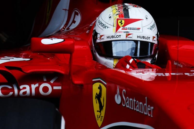 Sebastian Vettel starts year with test of 2014 Ferrari F1 car