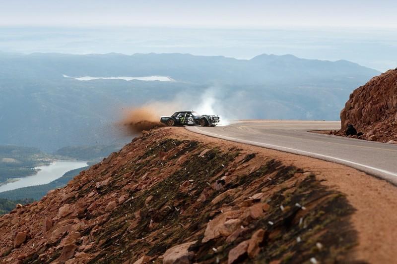 Ken Block uses Pikes Peak Hillclimb course for latest Gymkhana film
