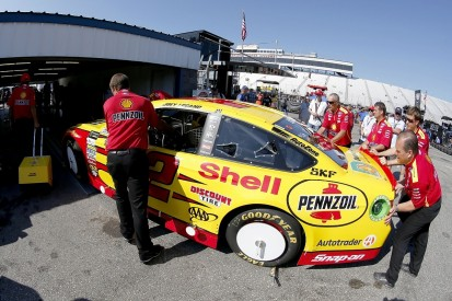 Logano calls NASCAR a 'total joke' after practice pit road penalty