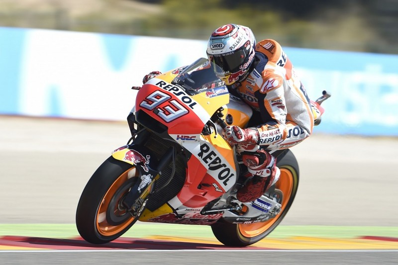 MotoGP Aragon: Marquez wins to take points lead, with Rossi fifth