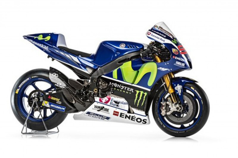 Yamaha reveals Valentino Rossi and Jorge Lorenzo's 2016 MotoGP bike