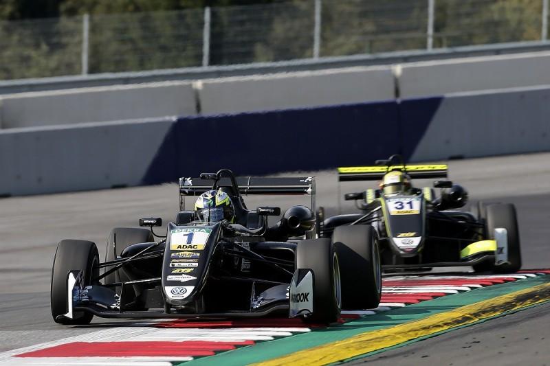 Red Bull Ring Euro F3: Crash denies Norris title as Eriksson wins
