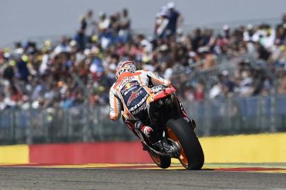 "Aragon MotoGP: Winner Marquez was ""fighting bike"" for whole race"