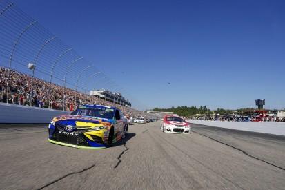 New Hampshire NASCAR: Kyle Busch wins, damaged Truex falls back