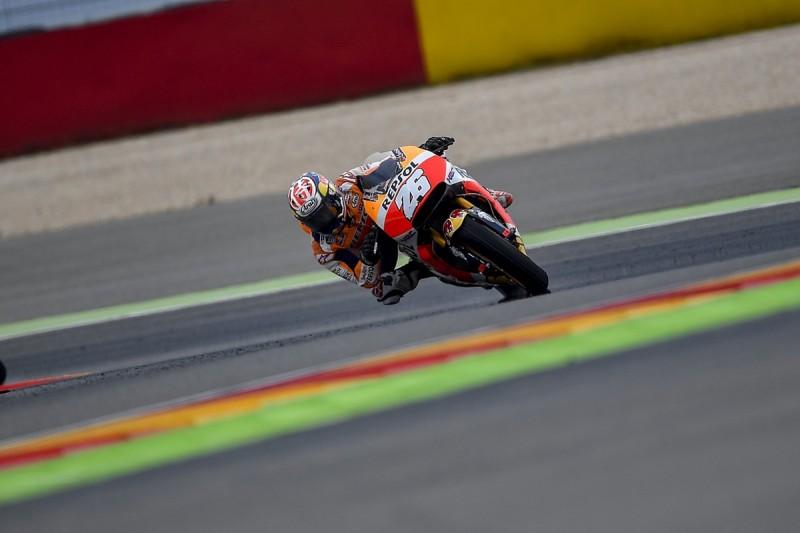 Aragon MotoGP: Dani Pedrosa top practice two, Valentino Rossi 20th