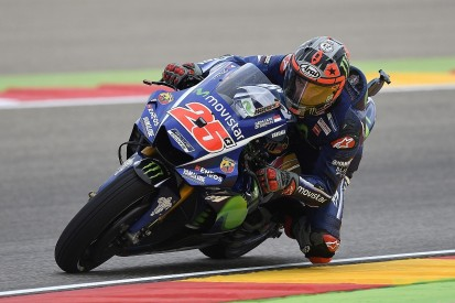 Aragon MotoGP: Vinales 'really frustrated' by pace in the wet