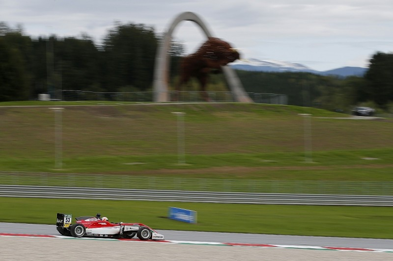 Euro F3 Red Bull Ring: Ilott pips Gunther to pole for opener