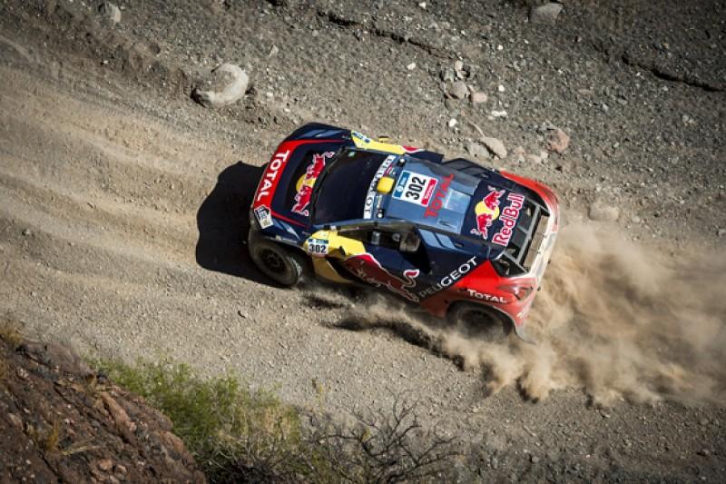 Peterhansel takes control of Dakar Rally as Sainz's run ends