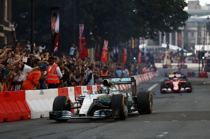 F1 demo rules changed by FIA to allow current cars to be used