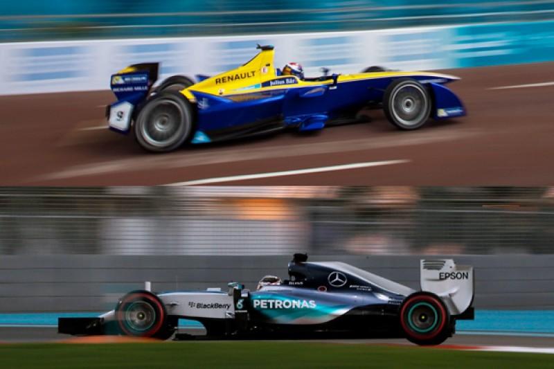Formula E technology could help F1 reach 1000bhp turbo power units