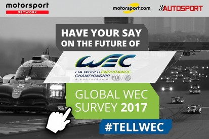 World Endurance Championship launches fan survey with Motorsport Network