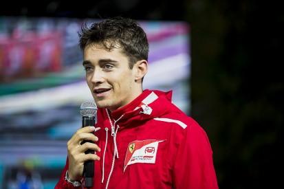 Ferrari junior Charles Leclerc gets Sauber F1 Friday practice runs