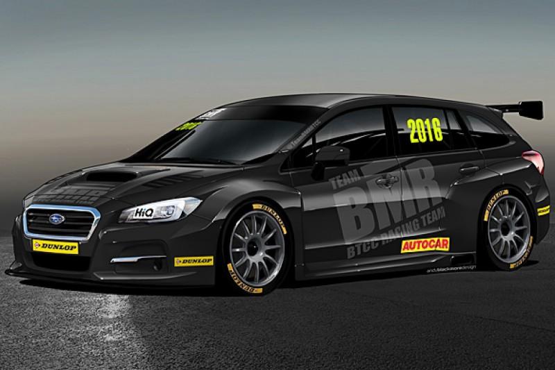 Subaru to enter British Touring Car Championship with Team BMR
