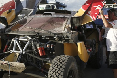 Hopes of winning Dakar Rally 'finished' after crash, Loeb admits