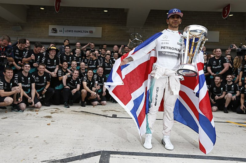 Lewis Hamilton predicts more Mercedes F1 dominance in 2016