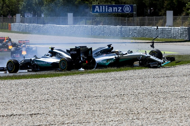 Singapore GP crash reminded Mercedes' Wolff of Spain 2016 wipeout