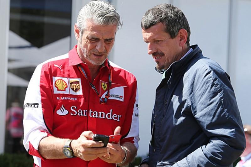 Ferrari's delayed work on 2016 F1 car won't affect Haas team