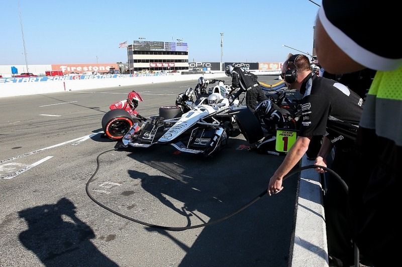 Pagenaud's Sonoma IndyCar victory planned with engineer over text