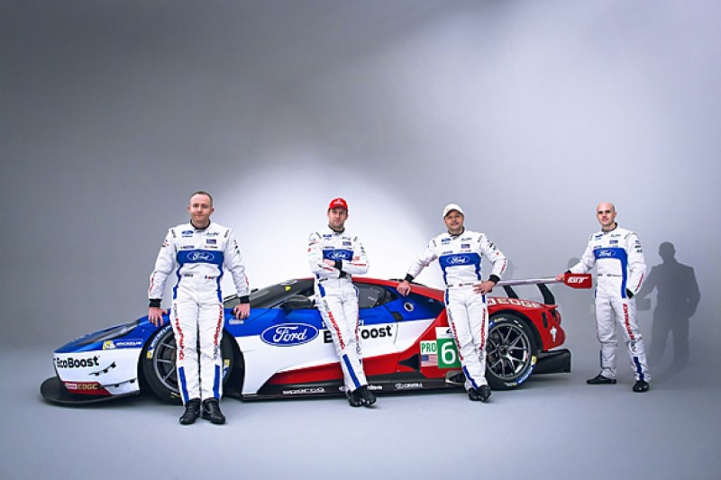 Ford reveals driver line-up for 2016 WEC GTE Pro entry with Ganassi