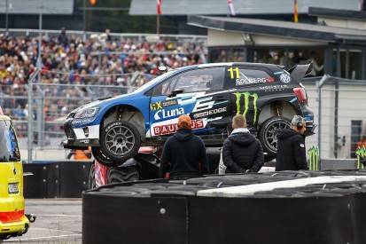 Petter Solberg also broke ribs in Latvia World Rallycross crash