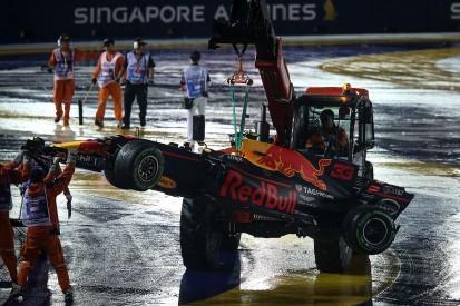 Max Verstappen: No Sebastian Vettel apology for Singapore GP crash