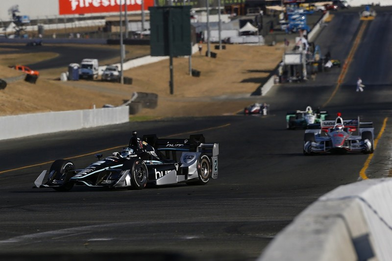 IndyCar champion Josef Newgarden 'steaming' at Sonoma race defeat