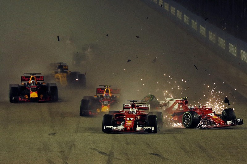 Singapore GP start crash: FIA takes no action against drivers