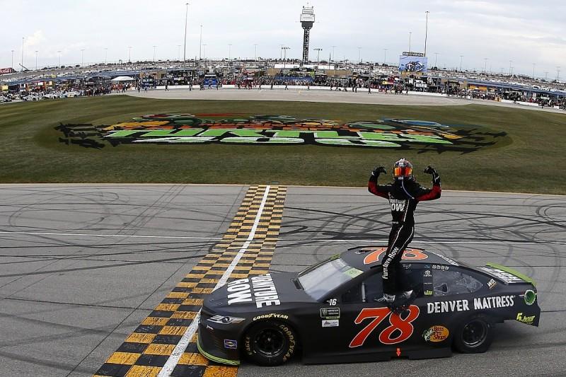 Chicagoland NASCAR: Martin Truex Jr wins as playoffs begin