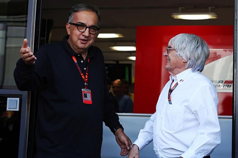 F1 exit plan Bernie Ecclestone's 'real challenge' says Ferrari boss