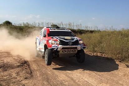 Dakar Rally: Toyota driver Bernhard Ten Brinke sets Prologue pace
