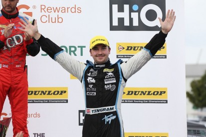 Silverstone BTCC: Tom Ingram wins in red-flagged opener after crash