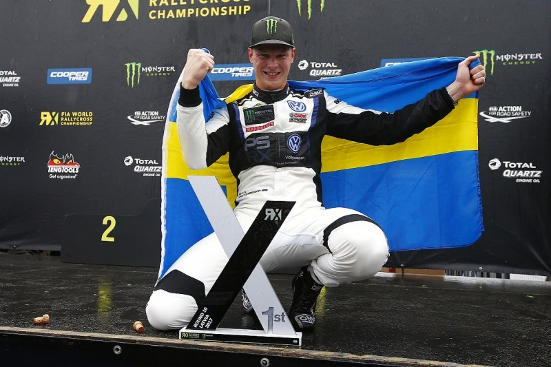 Kristoffersson seals World Rallycross title, Solberg to hospital