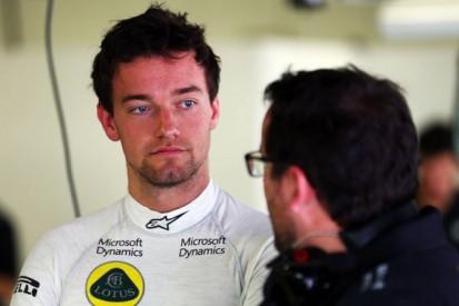 Jolyon Palmer is ready for Formula 1 race debut - Pastor Maldonado