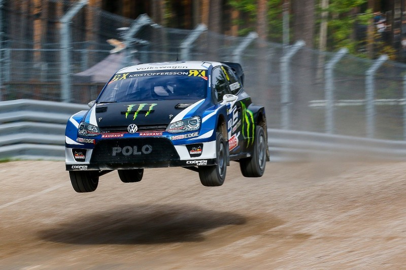 Kristoffersson closes on World RX title by topping Riga qualifying