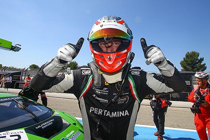 Long-term Lamborghini deal for Mirko Bortolotti